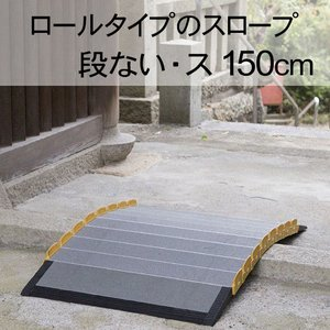 車いす スロープ  段ない・ス ロールタイプ1500 シコク社|okitatami