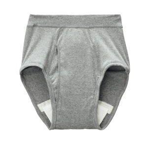 グンゼ モレを吸収する快適パンツ 失禁対策ブリーフグレー L 3枚セット|okitatami