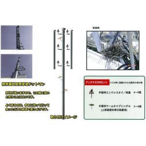 カラス 撃退 はと むくどり はとよけ 防鳩 撃退ドットマンアンテナに取り付け5万円セット|okitatami