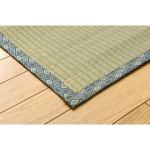 国産 い草上敷カーペット「桂浜」江戸間2畳(約176×176cm|okitatami