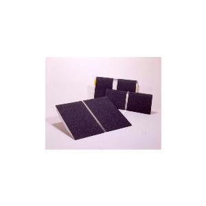 エッジ付き アルミ1枚板 74cm幅 25cmタイプ イーストアイ・アルミスロープ PVT025 |okitatami