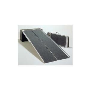 アルミ4つ折り式 74cm幅 2.4mタイプ イーストアイ・アルミスロープ PVW240 |okitatami