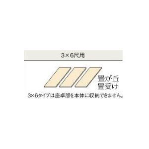 畳 ボックス 収納 高床 ユニット パナソニック 畳ヶ丘 畳受け用ボード 3×6尺用|okitatami