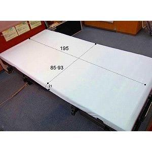 介護ベッドシーツ MR-2044 エコノミー ボックス型防水シーツ 萬楽(株)オフホワイト|okitatami