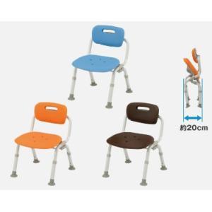 風呂椅子 パナソニックシャワーチェア ユクリア コンパクトおりたたみN PN-L40721 背もたれタイプ|okitatami