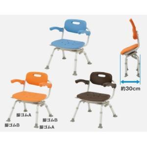 風呂椅子 バスチェア シャワーベンチ パナソニックシャワーチェア ユクリア ミドルSP回転おりたたみN PN-L41221 背もたれ・ひじかけタイプ|okitatami