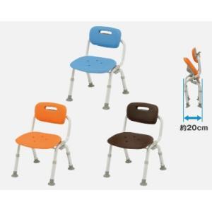 風呂椅子 パナソニックシャワーチェア ユクリア コンパクトワンタッチおりたたみN PN-L41421 背もたれタイプ|okitatami