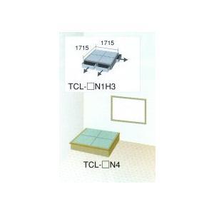 畳 ボックス 収納 高床 ユニット 楽座 プランL-2 二畳タイプ引出なし|okitatami
