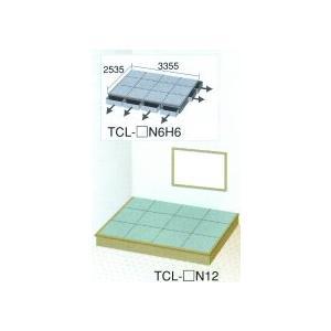 畳 ボックス 収納 高床 ユニット 楽座 プランL-5 六畳タイプ引出なし|okitatami