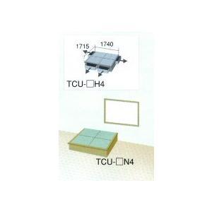 畳 ボックス 収納 高床 ユニット 楽座 プランU-2 二畳タイプ引出なし|okitatami