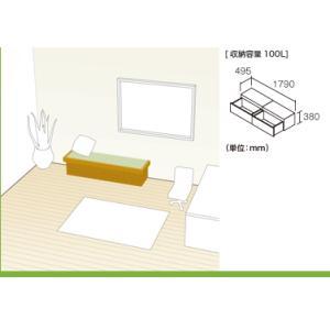 畳 ボックス 収納 高床 ユニット パナソニック NEW 畳が丘 プランNO.01 0.5畳 一方壁納まり 送料無料|okitatami