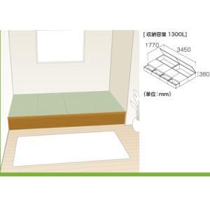畳 ボックス 収納 高床 ユニット パナソニック NEW 畳が丘 プランNO.08 4畳 三方壁納まり okitatami