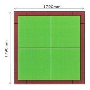 畳 ボックス 収納 高床 ユニット パナソニック NEW 畳が丘 2畳アイランドタイプ 1 ハッチボックスタイプ 送料無料