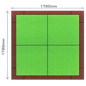畳 ボックス 収納 高床 ユニット パナソニック NEW 畳が丘 2畳アイランドタイプ 2 ハッチボックスタイプ  送料無料|okitatami