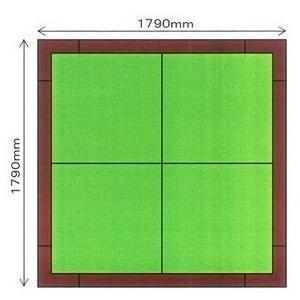 畳 ボックス 収納 高床 ユニット パナソニック NEW 畳が丘 2畳アイランドタイプ 4 ハッチボックスタイプ  送料無料|okitatami