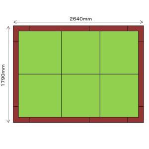 畳 ボックス 収納 高床 ユニット パナソニック NEW 畳が丘 3畳アイランドタイプ 1 ハッチボックスタイプ|okitatami
