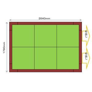 畳 ボックス 収納 高床 ユニット パナソニック NEW 畳が丘 3畳アイランドタイプ 4 ハッチ・引出しタイプ 送料無料|okitatami