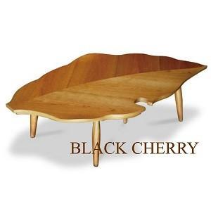 こたつ 葉っぱ 家具調こたつ 落ち葉 130 こたつテーブル デザインコタツ 3D 変形 日本製  炬燵 こたつ コタツ おちば ブラックチェリー|okkagufa-mu