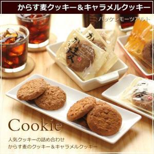 からす麦の焼きたてクッキーとキャラメルクッキーセット 各20枚入り 広島 名物 お土産 ギフト プレゼント 誕生日 バッケンモーツアルト okodepa
