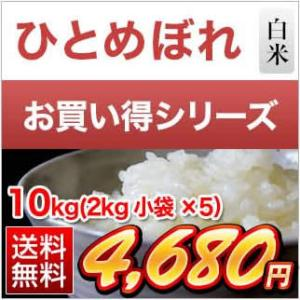 10kg お米 2kg×5袋 岩手県産 ひとめぼれ 平成29...