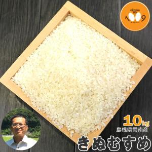 米 10kg 白米 島根県雲南産 きぬむすめ 石原公夫 令和2年産|okomeno1009