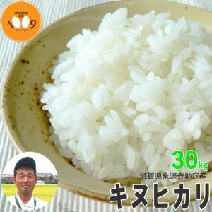 米 30kg 玄米 滋賀県永源寺地区産 キヌヒカリ ニシオカファーム 令和2年産|okomeno1009