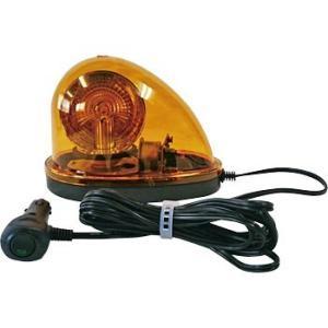 車載用ハイパワーLED回転灯 車両用回転灯 マグネット式 BMF-LED(黄) DC12V/24V兼用|oktools