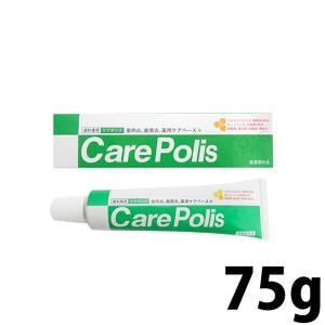 薬用歯磨 ケアポリス 75g歯磨き粉×1本