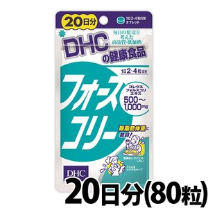 DHCサプリメント フォースコリー 80粒