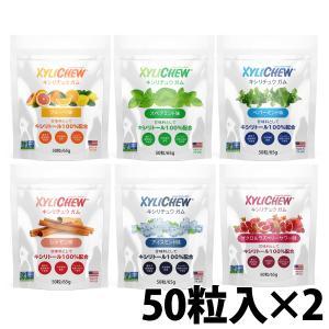 キシリトール100% Xylichew(キシリチュウ)粒ガム ボトルタイプ(60粒)×2個 あすつく...