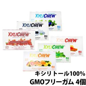 キシリトール100% Xylichew(キシリチュウ)粒ガム ブリスターパック(12粒)×4個(2個...
