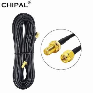 Chipal 9メートル6メートル3メートル1メートル銅RG174 RP-SMA オス メス 延長 ケーブル 無線 lanルータ ワイヤレス okuda-store