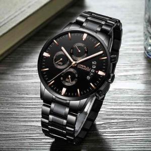 CRRJU レロジオ Masculino 男性 腕時計 高級 有名な メンズ ファッション カジュアルドレス 腕時計 ミリタリー 腕時計|okuda-store