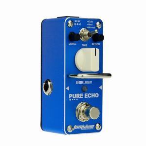 アロマ純粋なエコーデジタル遅延ペダルエレキギター効果エコーmod通常3モードエフェクトペダルprocesssorアクセサリー|okuda-store