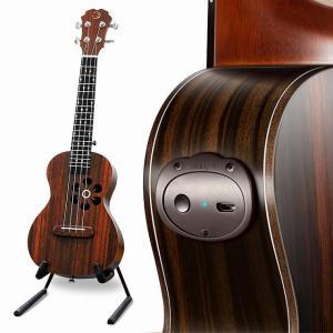 Populele S1 音響電気スマートギターウクレレコンサートソプラノ 23 インチ 4 弦 Bluetooth ウクレレアクセサリー初心|okuda-store