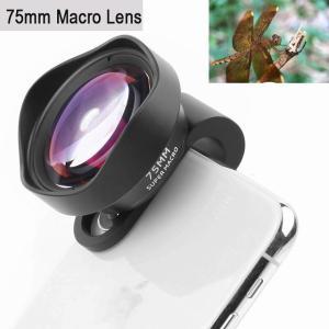 プロ 電話 カメラ レンズ 75 ミリメートル マクロ レンズ hd デジタル 一眼 レフ効果クリップ-iphone 5 12 11プロマッ okuda-store