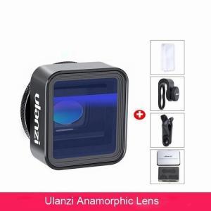 Ulanzi携帯 電話 レンズ 17 ミリメートル 広角 レンズ cplフィルター1.33X anamorphic望遠75 ミリメートル マ okuda-store