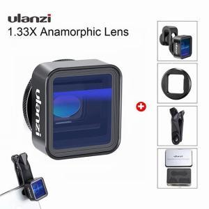 ユニバーサルulanzi anamorphic レンズ iphone 12プロmax x 1.33Xワイド スクリーン  ビデオ ワイド ス okuda-store