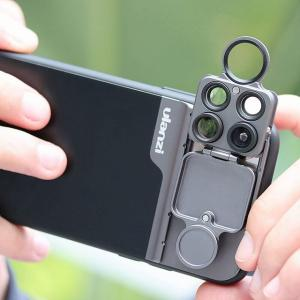 Ulanzi U- レンズ 5 1 電話 レンズ キットで 20X スーパーマクロ レンズ CPL フィッシュアイ望遠 レンズ iphone okuda-store