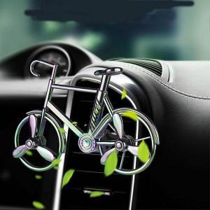 クリエイティブ 車 の 空気 清浄 自転車 式オートエアコン 空気 出口香りクリップ 装飾 飾り 自動車 香水の消臭 芳香剤|okuda-store