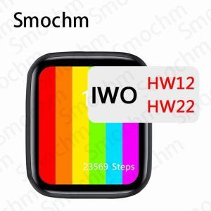 Smochm iwo HW12 HW22シリーズ6 40ミリメートル44ミリメートル スクリーン スマートウォッチ ブルートゥース 通話 I|okuda-store