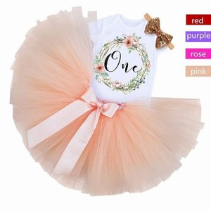 1歳 誕生日 パーティー ドレス 洗礼 チュチュ 女の子 服 クリスマス カーニバル 新生児 ガール ドレス vestidos okuda-store