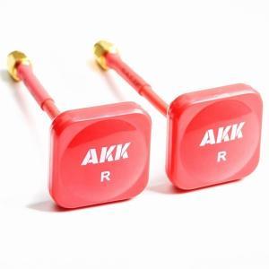 NEW20 akk 5.8グラムrhcp アンテナ 送信機 / 受信機 赤mmcx/rpsma アンテナ|okuda-store
