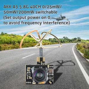Akk A3ミニ5.8ghz 0/25mw/50mw/200 200mwのfpv トランスミッタ マイクロ aio カメラ|okuda-store