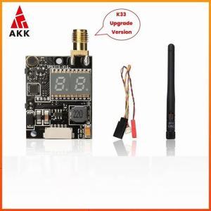 Akk K33/K31 5.8グラム画面表示600 200mwのfpv オーディオ ビデオ トランスミッタ ための2000メートルの範囲|okuda-store