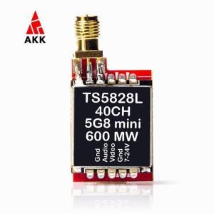 Akk TS5828/TS5828L 5.8グラム600 200mwのfpv オーディオ ビデオ トランスミッタ RP-SMA 女性 ミニf|okuda-store