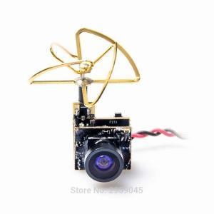 Akk S2 5.8 グラム 48CH 25mw vtx 600TVL 1/3 cmos aio fpv カメラ クローバー アンテナ fp|okuda-store