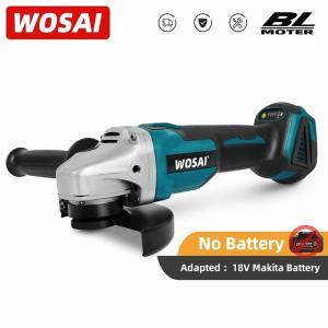 Wosai mt-シリーズ20v 125ミリメートル ブラシ レス コードレス アングルグラインダー可変速度切断機 研磨 18vマキタ バッ okuda-store