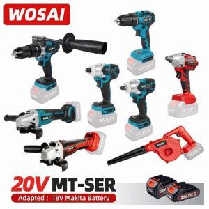 Wosai 電動 レンチ /電気 ドリル ドライバー /アングルグラインダー/ 電動 ハンマー / 電動 送風 機/チェーンソー/18のため okuda-store