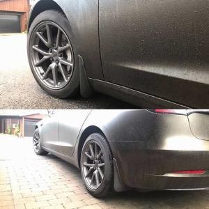 車の泥フラップフェンダーフレアスプラッシュガード フロント リアマッドガードスプラッシュガードフォード/フォーカス 2 MK2 MK2.5|okuda-store